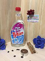 Средство для мытья стекол Tytan анти-пар (запас) | 750мл Польша