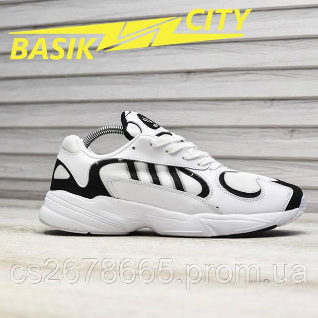 Мужские кроссовки Adidas Yung White фото описания 1