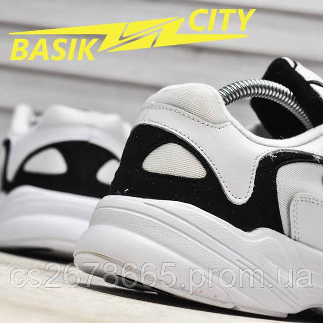Мужские кроссовки Adidas Yung White фото описания 3