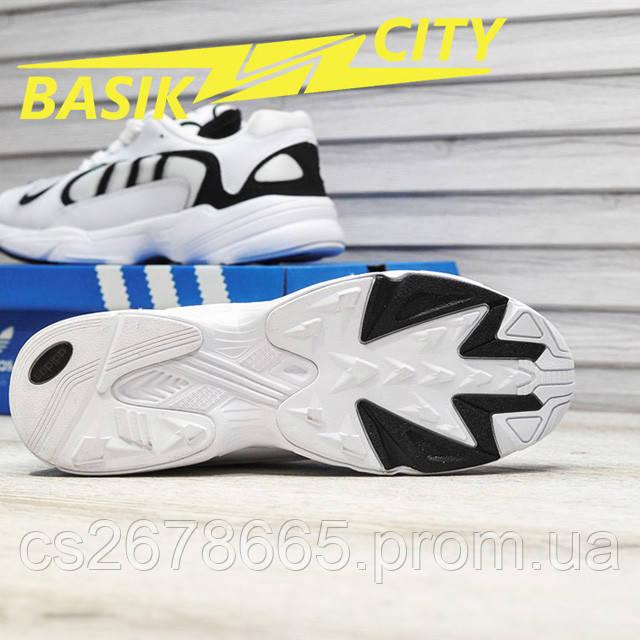 Мужские кроссовки Adidas Yung White фото описания 7