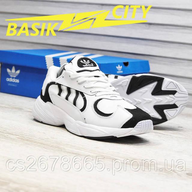 Мужские кроссовки Adidas Yung White фото описания