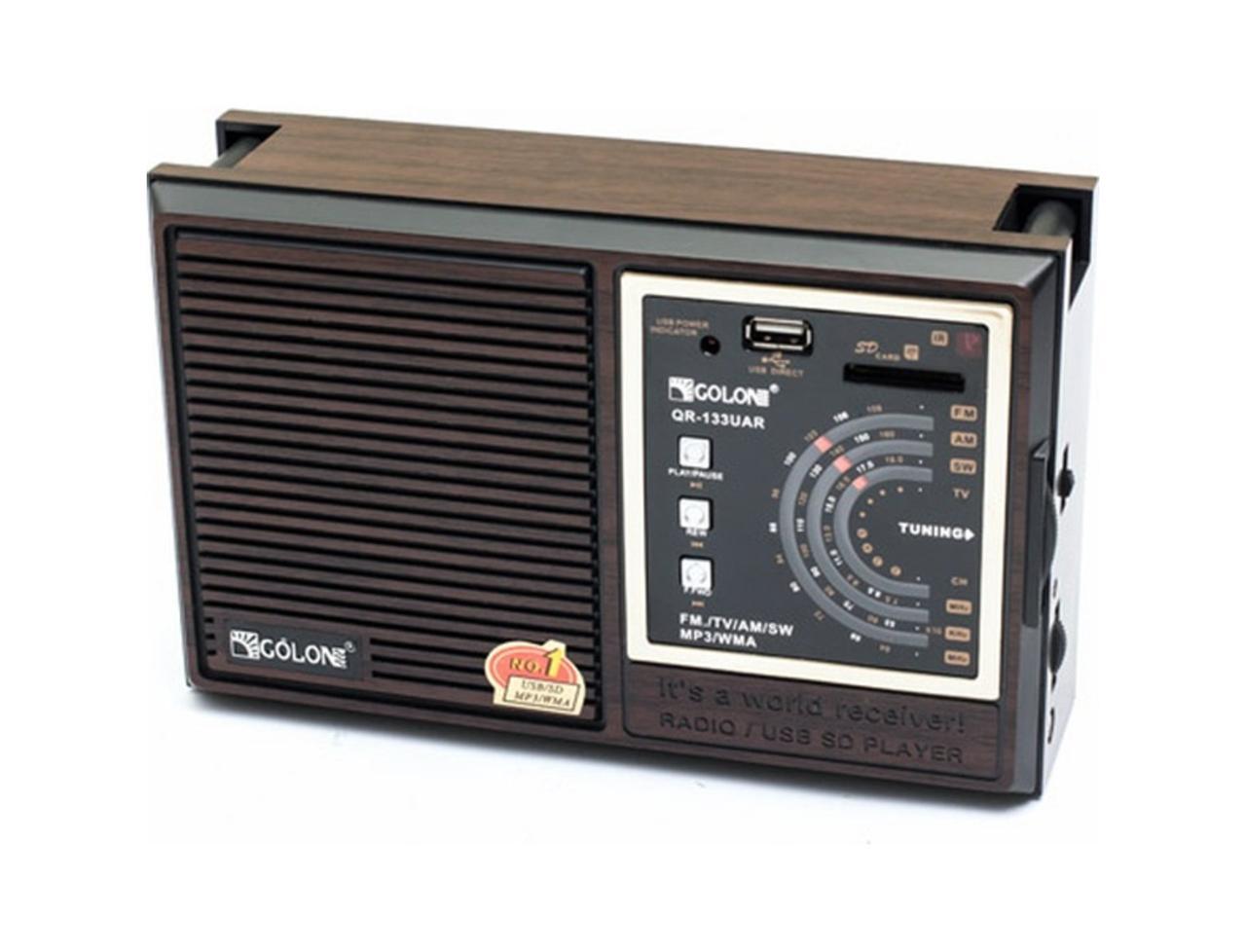Радиоприемник Golon QR-133