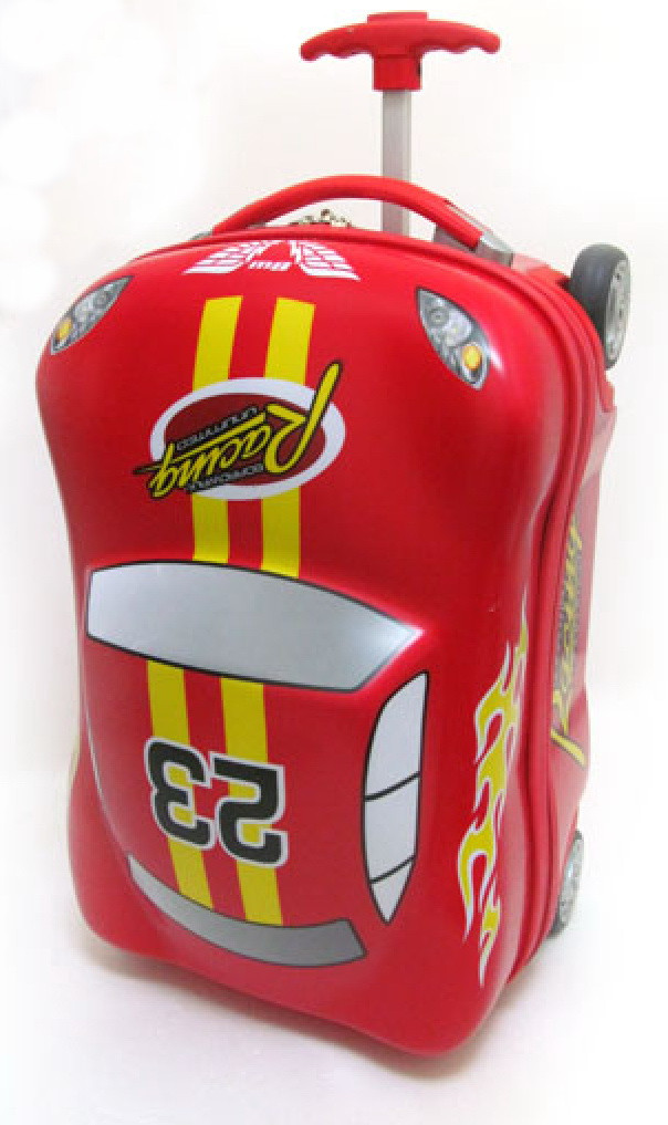 """Валіза ручна поклажа дитячий дорожній IMG4868 Josef Otten на 2+2 колесах """"Racing"""" 18"""""""