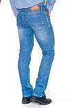Мужские джинсы Franco Benussi 15-357 TOR 6051 синие, фото 2