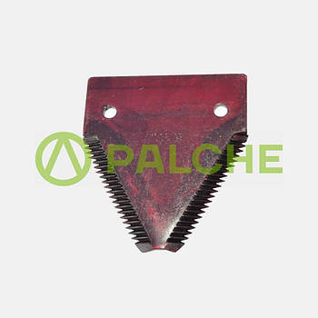 Сегмент ножа жатки крупна насічка 611203   Запчастини CLAAS, claas