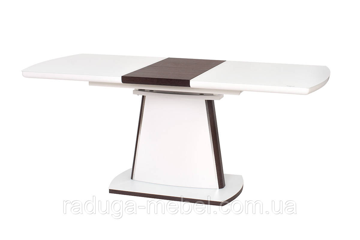 Стол кухонный обеденный белый матовый TМL-520