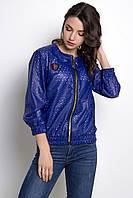 Женская демисезонная куртка-бомбер из эко-кожи в 6ти цветах SWIFT_2/1, фото 1