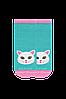 Носки короткие детские с котиком тм Дюна