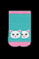 Носки короткие детские с котиком тм Дюна, фото 1