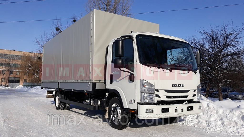 Автомобиль грузовой ISUZU NPR 75L-K борт-тент