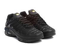 Кросівки демісезонні чоловічі чорні Nike Air Max Plus Tn Tuned 1 46 розмір