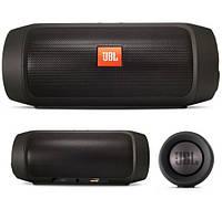 Портативная колонка-акустика JBL Charge 2 влагозащищенная 15 Ват, цвет черный