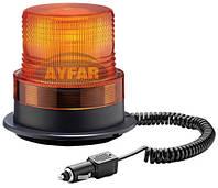 Мигалка желтая диодная 12/24 вольт TR520 для грузовиков(8321TR520)