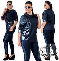 Женский стильный костюм  ОА709 (бат)