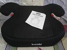 Автосидение-бустер Bambi M 2784-1 Черный
