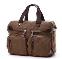 Сумка-рюкзак (трансформер) 38.5*28.5*13 см , фото 1