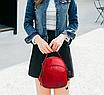 Рюкзак женский сумка трансформер Retro Style Красный, фото 3