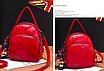 Рюкзак женский сумка трансформер Retro Style Красный, фото 2