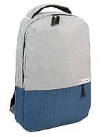 Рюкзак школьный подростковый MEINAILI 018 отдел для ноутбука 15,6 дюйма 32х41х11см, фото 1