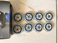 Колеса для роликовых коньков 8шт 80х24мм с подшипниками и втулками, фото 1