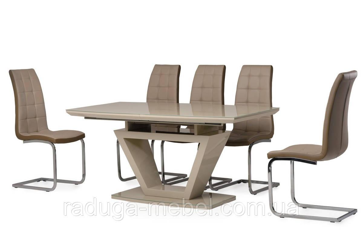 Стол кухонный обеденный капучино TМ-53