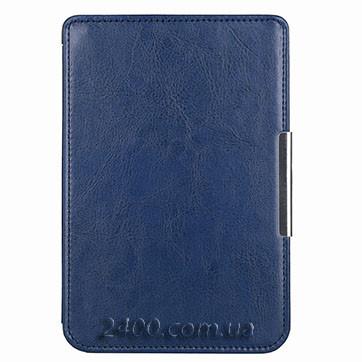 Обложка-чехол для PocketBook 622 Touch Lux (623) синего цвета