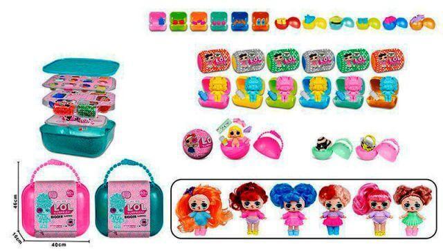 Кукла LOL Surprise ЛОЛ в чемодане 56603