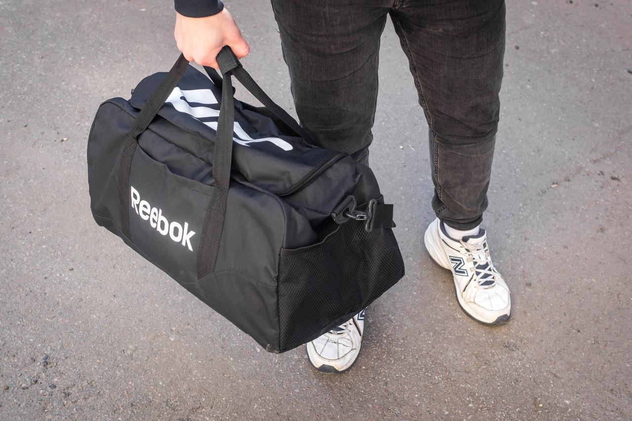 82725b0fb71a Мужская спортивная сумка Reebok HARD UFC BLACK: продажа, цена в ...