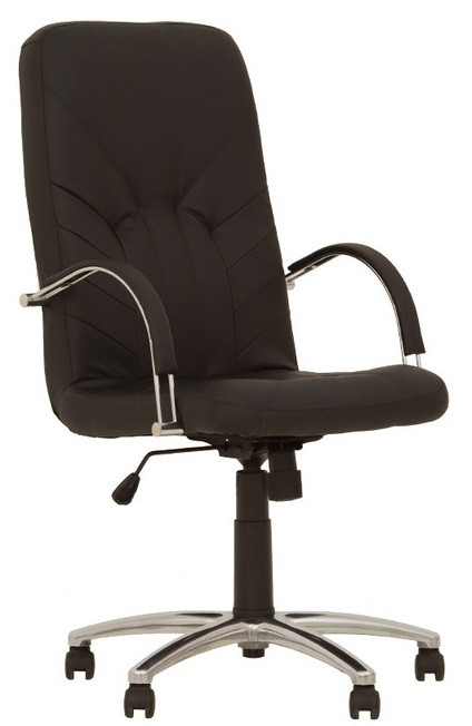 Кресло для руководителей MANAGER steel Tilt AL68 с механизмом качания