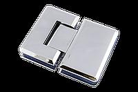 Петля для душевых кабин стекло - стекло 180 градусов