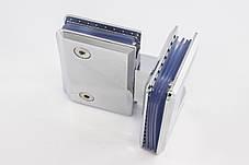 Петля для душевых кабин стекло - стекло 180 градусов, фото 3