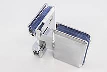 Петля для душевых кабин стекло - стекло 180 градусов, фото 2
