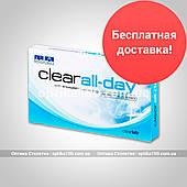 Контактні лінзи Clear all-day. 6 шт. по 103 грн.