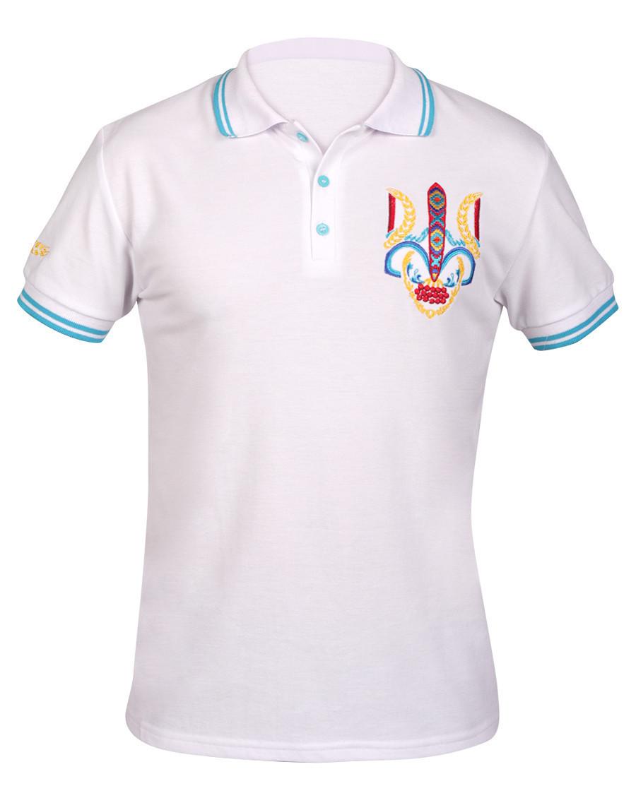 Вышивка на футболках поло