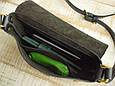 Кожаная женская сумка на плечо Babak 886086, черный оникс , фото 3
