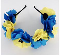 "Обручи ""Цветы"" (Код: UKR_obruch-015)"