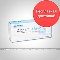 Контактные линзы Clear 1-day. 30 шт. упаковка