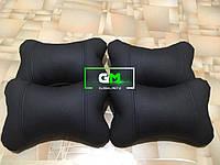 Подушка на подголовник без вышивки (немецкая эко-кожа)