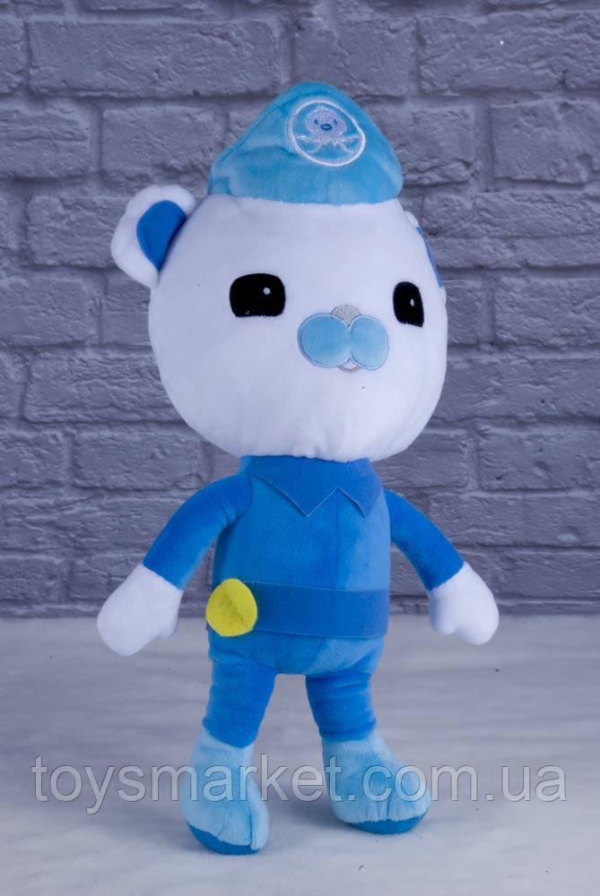 Мягкая игрушка медведь Капитан, Октонавты