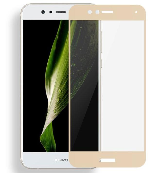 Full Cover защитное стекло для Huawei Nova 2 - Gold