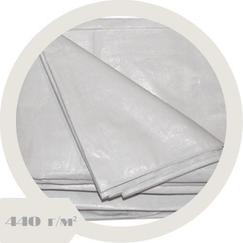 Тент ПВХ 1x1м (440 г/м² белый)