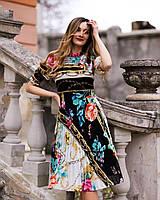 Легка сукня принт