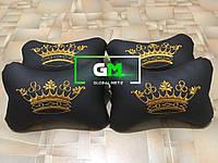 Подушки на подголовники сувенирные (немецкая эко-кожа)