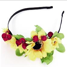 "Обручи ""Цветы"" (6шт.) (Код: UKR_obruch-011)"