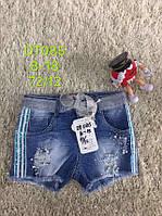 Джинсовые шорты для девочек оптом, S&D , 8-18 рр.