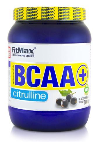 Аминокислоты BCAA FitMax - BCAA + Citrulline (600 грамм) blackcurrant/смородина