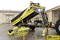 Прицеп с манипулятором тракторный самосвальный DL AgroMaster