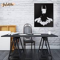 "Картина из дерева ""Бэтмен"""