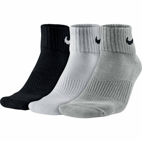 f3bf82e4 Купить Носки Nike 3ppk Cushion Quarter (Артикул: SX4703-901) в ...