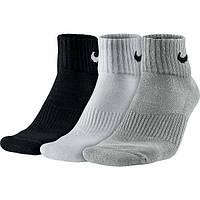Носки Nike 3ppk Cushion Quarter (Артикул: SX4703-901)